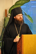 Archimandrite Irenei Steenberg speaks in February 2012
