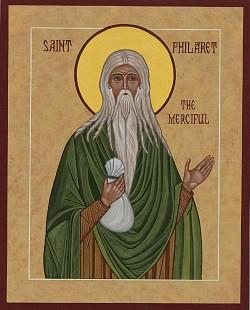 St. Philaret the Merciful (sample)