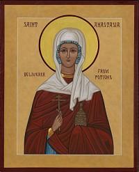 St. Anastasia Deliverer from Potions (sample)