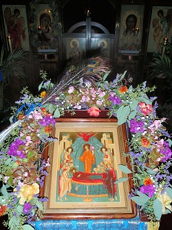 Icon of the Dormition of the Most Holy Theotokos