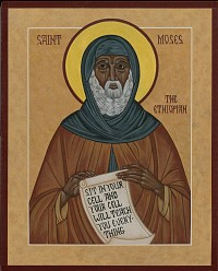 St. Moses the Ethiopian (sample)